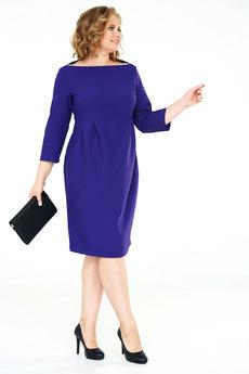 Красивое фиолетовое платье Angela Ricci